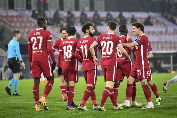 Salah becomes Liverpool's UCL top-scorer in Denmark draw
