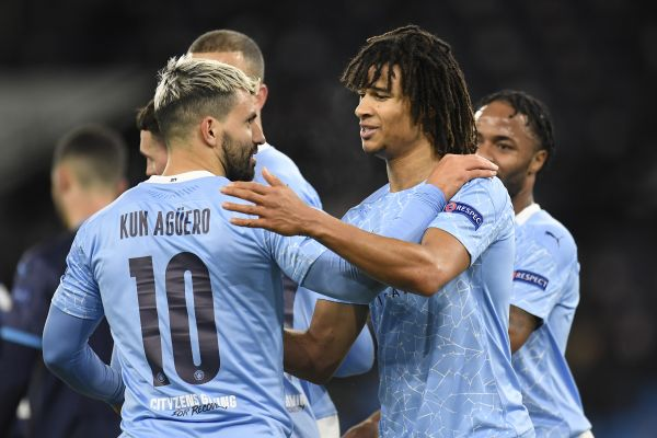 Aguero back with a goal as Man City cruise to victory