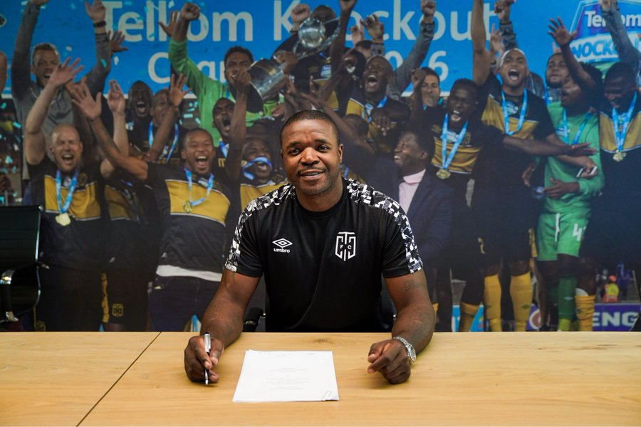 Mokoena joins CT City's coaching staff
