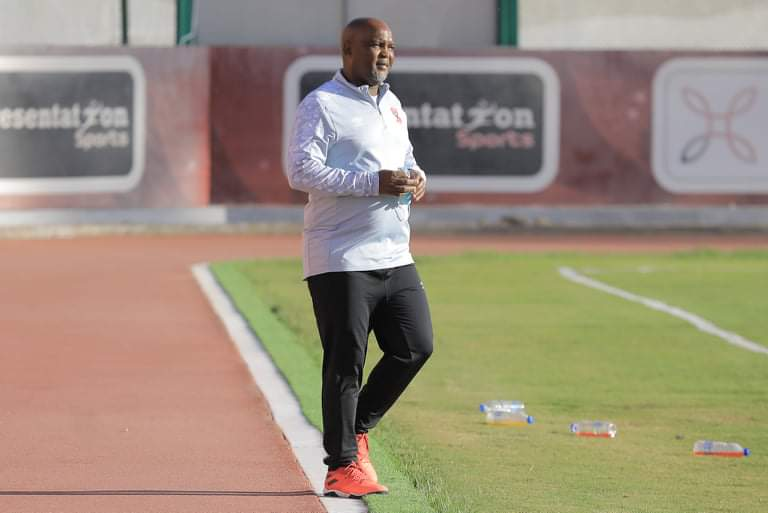Pitso: Al Ahly players made me 'angry' for first time
