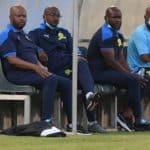 Manqoba Mngqithi, Rhulani Mokwena and Steve Komphela Mamelodi Sundowns coaches