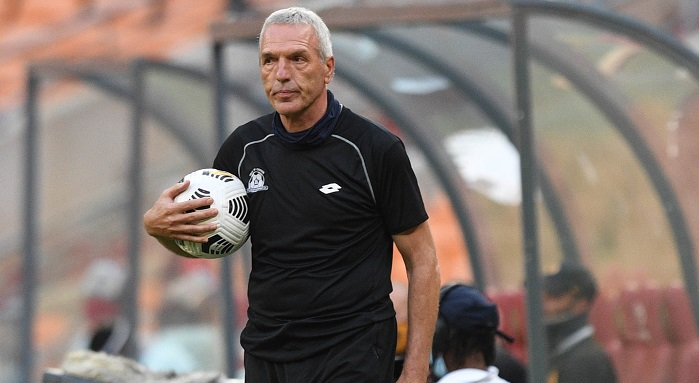 Ernst Middendorp coach of Maritzburg United