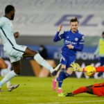 Leicester go top after impressive win over Chelsea