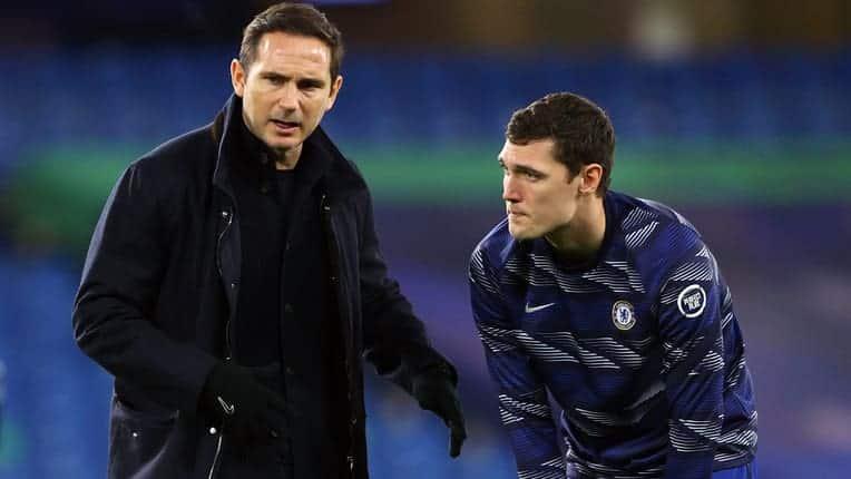 Lampard defends injured Christensen
