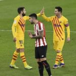 Messi strikes twice as Barcelona beat Bilbao
