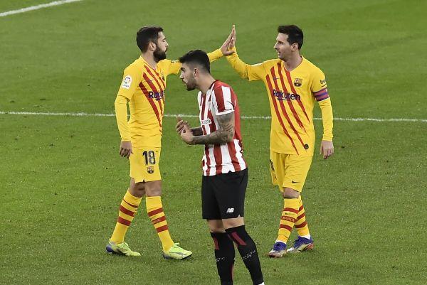 Messi strikes twice as Barcelona beat Bilbao