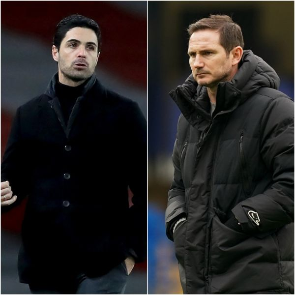 Arteta feels Lampard should be given more time at Chelsea