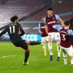 Salah double sends Liverpool third