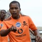 Azola Tshobeni of Orlando Pirates