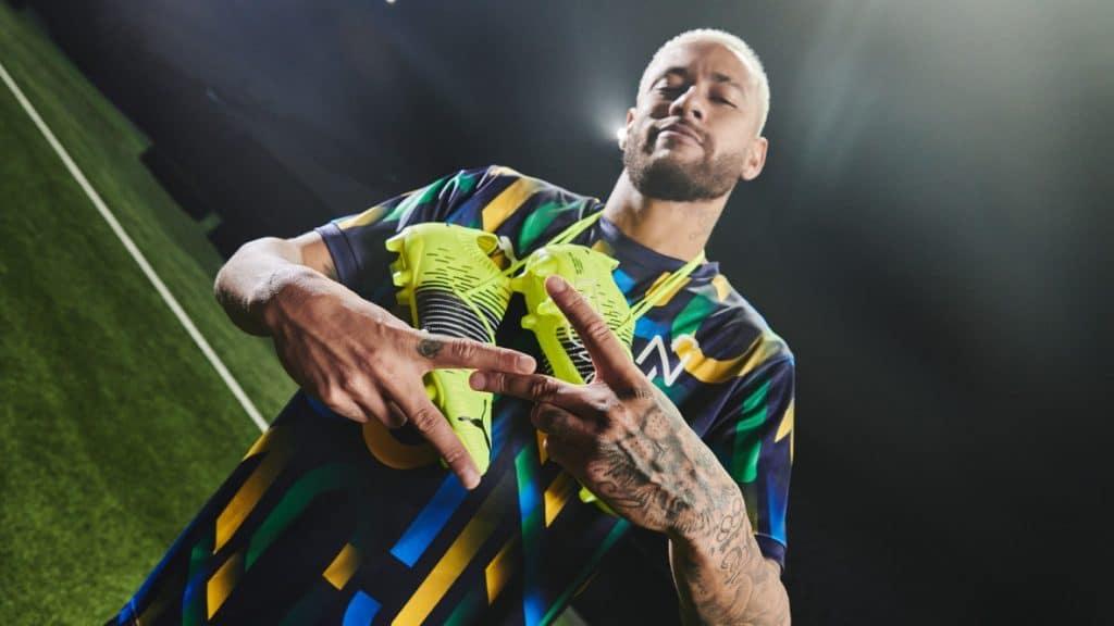 PUMA, Neymar Jr unveil FUTURE Z Game.On edition