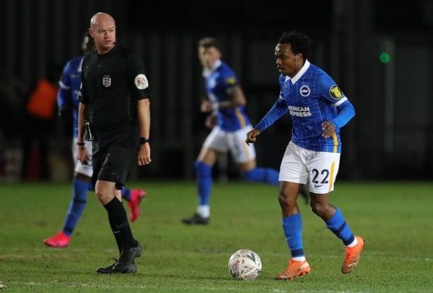 Watch: Percy Tau makes impressive debut for Brighton