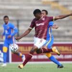 Stellies' Nange wins DStv Premiership Goal of the Month award