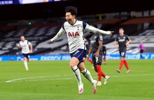 Tottenham defeat 10-man Brentford to reach Carabao Cup final