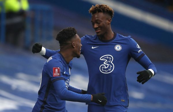 Abraham fires hat-trick to ease pressure on Lampard