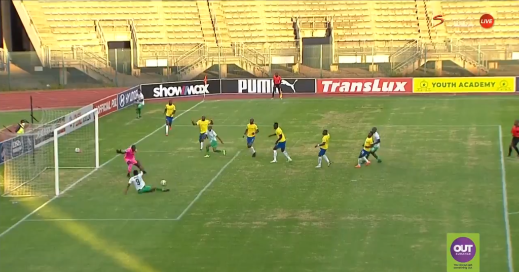 Watch: Bloem Celtic denied clear goal against Sundowns