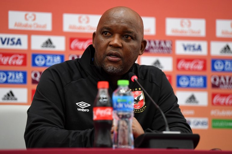 WATCH: Pitso's reaction to claiming bronze in Fifa Club World Cup