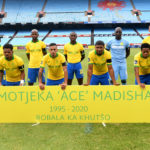 Watch: Sundowns, Chippa pay their respects to the late Madisha