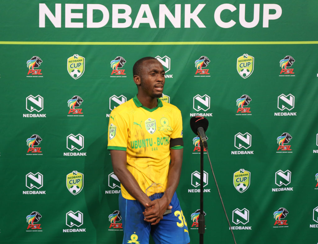 Watch: Shalulile's post-match media conference