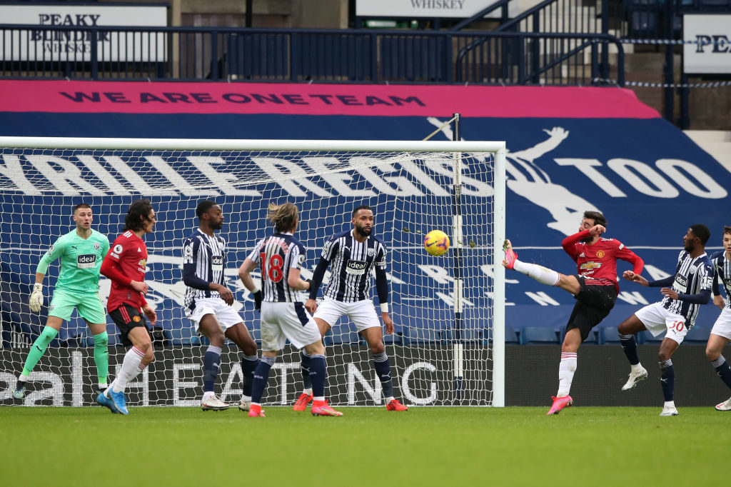 West Brom hold Man Utd despite Fernandes stunner