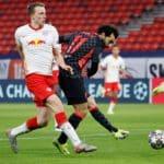 Salah, Mane put Liverpool in control of UCL tie
