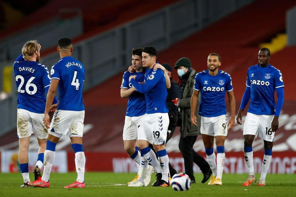 Highlights: Everton end long wait for derby joy at Anfield