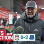 Watch: Klopp's reaction to Everton defeat
