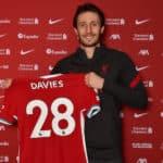 Liverpool seal signing of Ben Davies on long-term deal