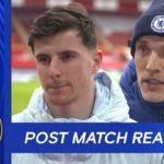 Watch: Tuchel, Mount reacts to draw at Southampton