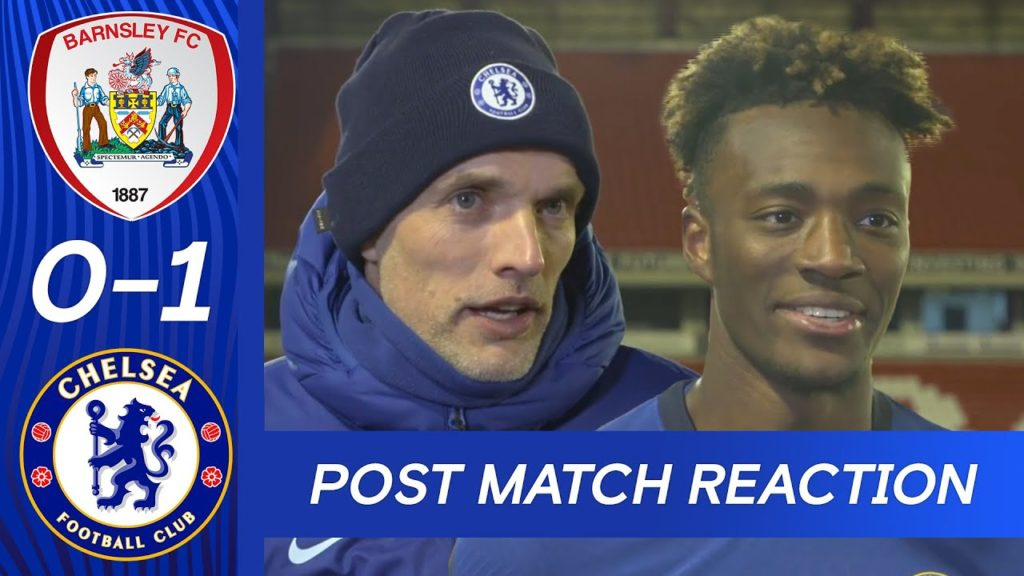 Watch: Tuchel, Abraham reacts to booking FA Cup quarter-final spot
