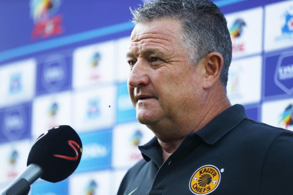 Gavin Hunt (Head Coach) of Kaizer Chiefs