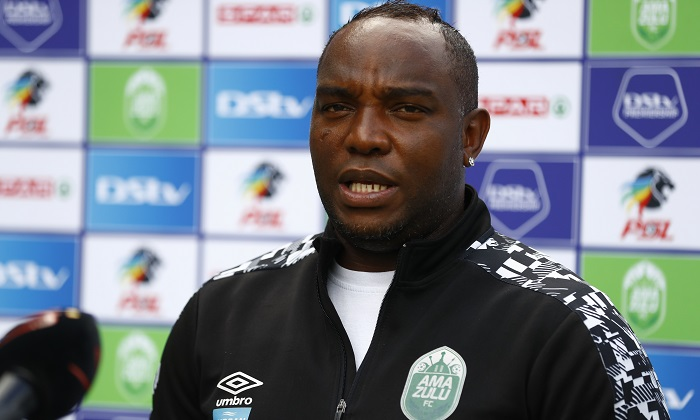 Benni McCarthy head coach of AmaZulu during the DStv