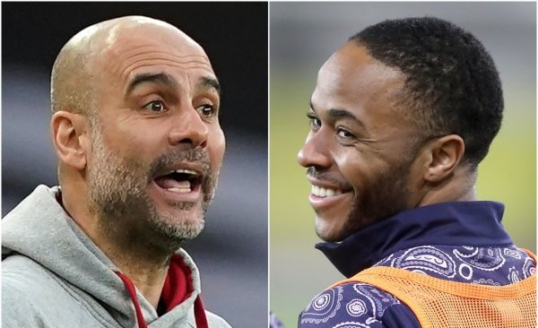 Sterling and Guardiola