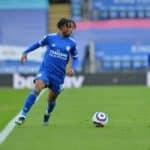 Khanya Leshabela of Leicester City