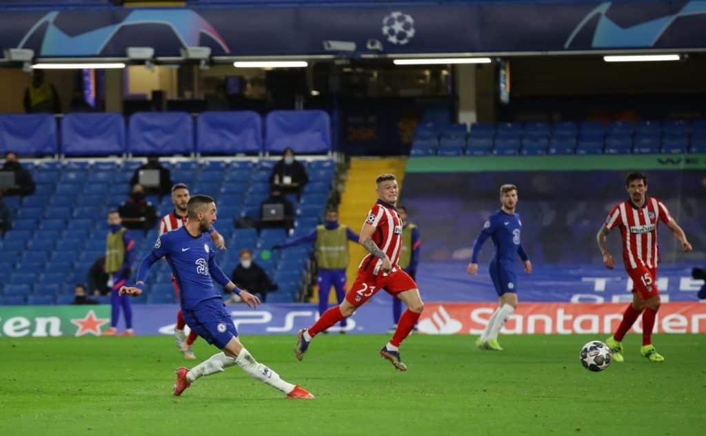 Ziyech, Emerson fire Chelsea into UCL quarters