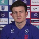 Maguire back in training with England as he steps up recovery from injury