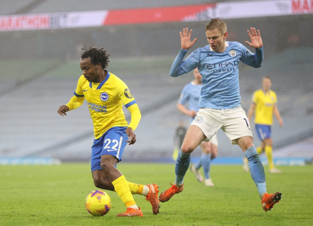 Brighton could offload nine stars this summer - including Percy Tau