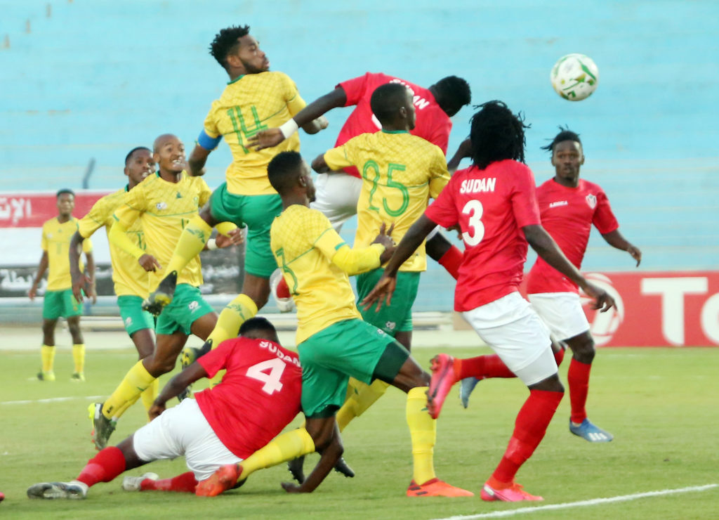 Bafana fail to qualify for Afcon after Sudan defeat