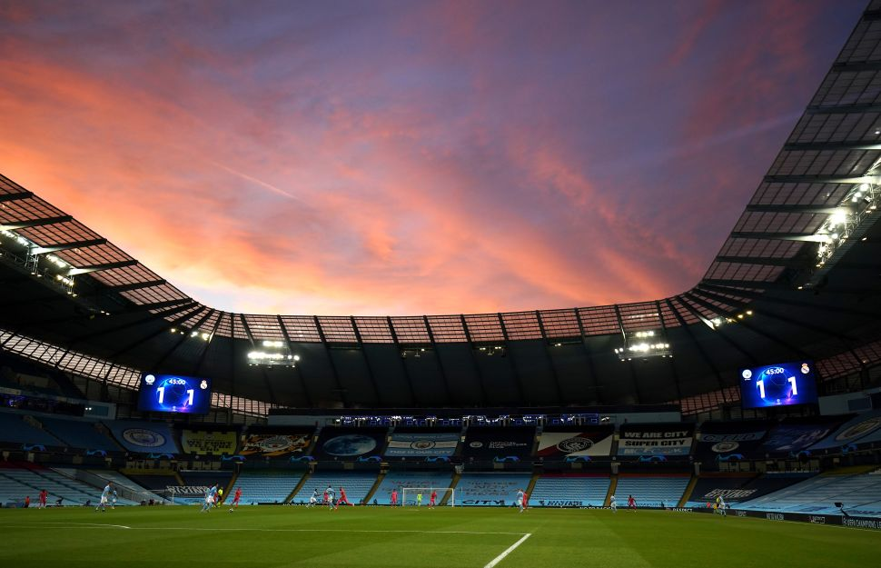 Man City's UCL dates with Dortmund to go ahead at home grounds