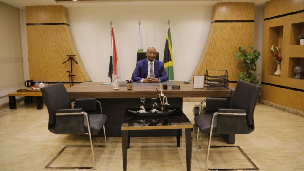Caf President Dr Patrice Motsepe holds key meetings in Cairo