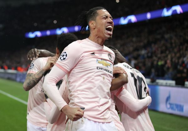 Smalling out to stop Man Utd's Europa League charge