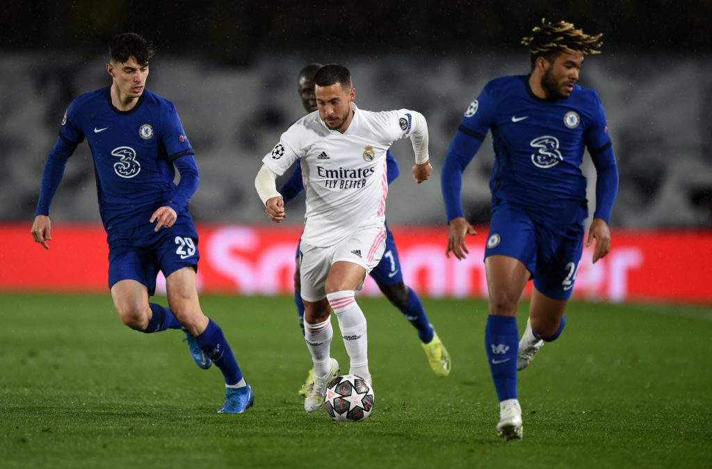 Chelsea grab crucial away goal in draw with Real Madrid