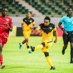 Nkosingiphile Ngcobo of Kaizer Chiefs vs Horoya