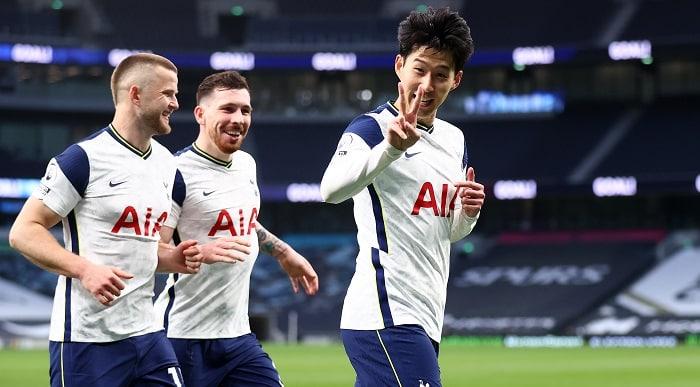 Son Heung-min of Tottenham Hotspur