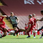 Late drama earns Newcastle a point at Anfield