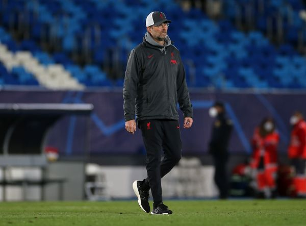Klopp cautious about Liverpool's comeback chances against Real