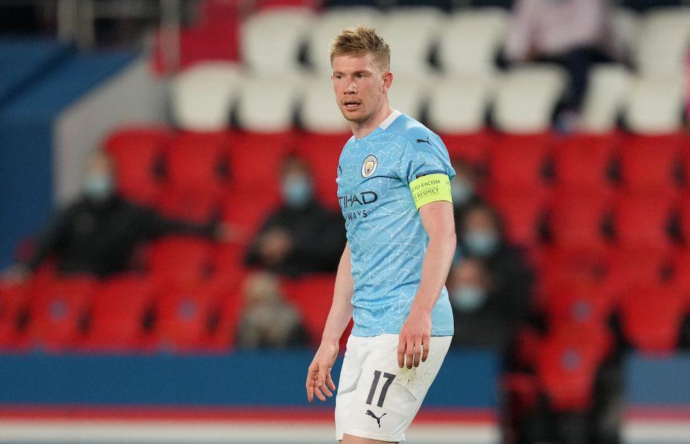 De Bruyne: Comeback in Paris 'doesn't matter' until City secure final spot