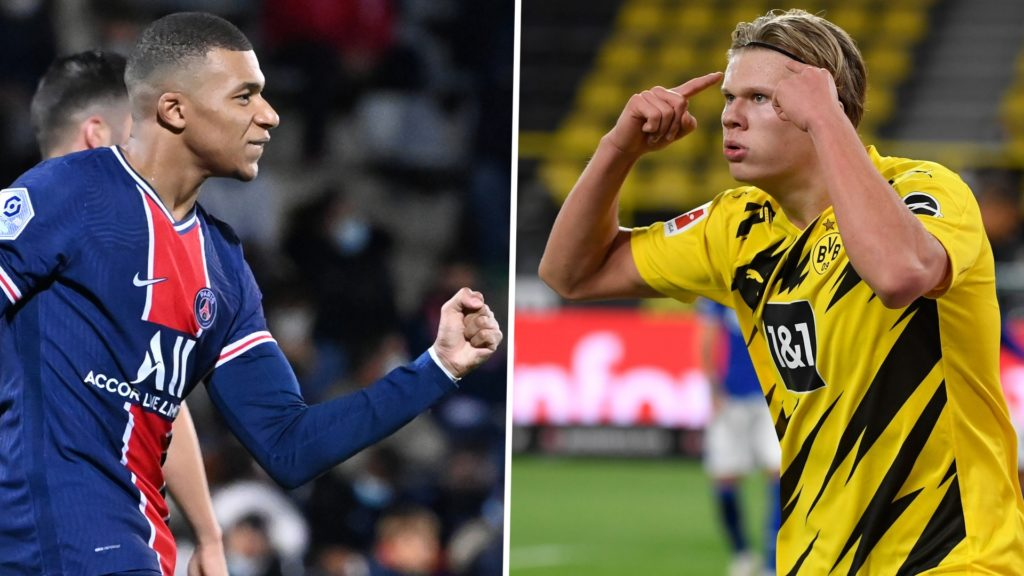 How Mbappe, Haaland compare to leading UCL scorers