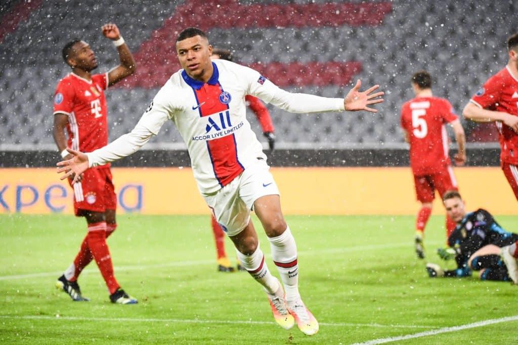 Mbappe double gives PSG first-leg advantage