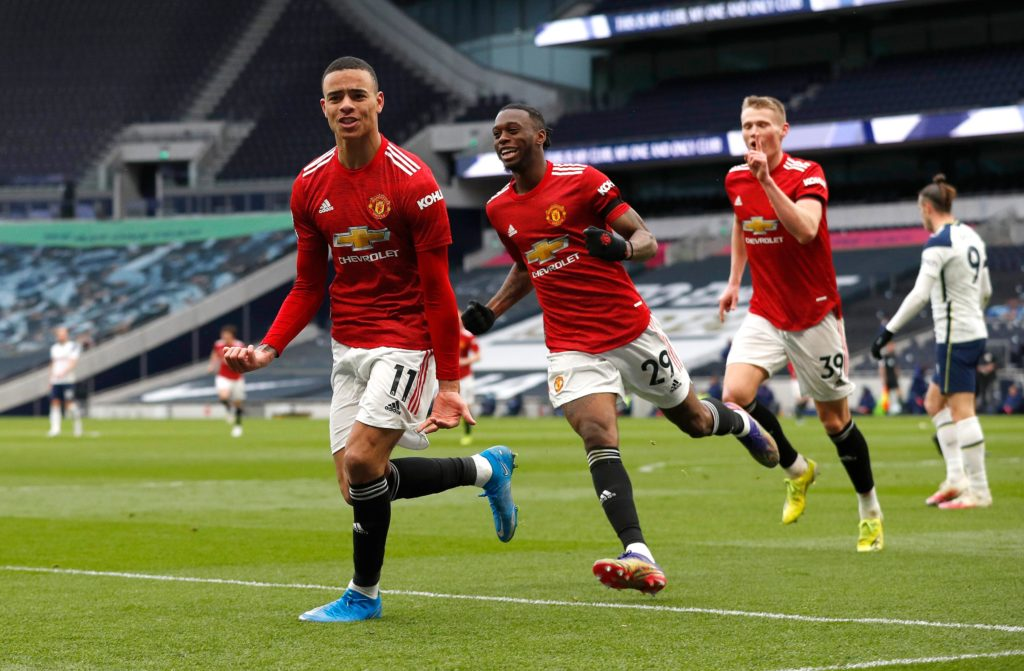 Man Utd dent Spurs top four hopes