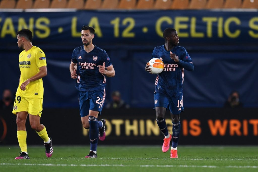 Arsenal grab crucial away goal in defeat at Villarreal